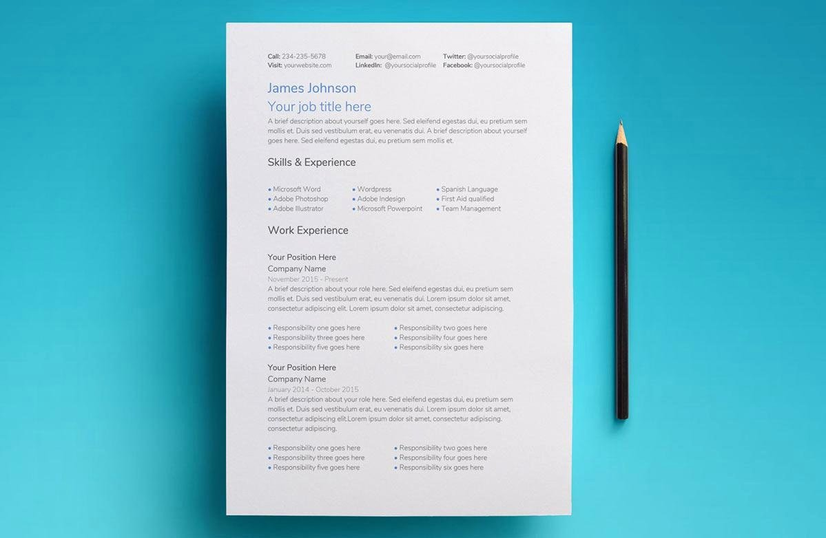 Picture Book Template Google Docs Best Of Google Docs Resume Templates 10 Free formats to Download