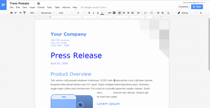 Picture Book Template Google Docs Best Of How to Create A Custom Template In Google Docs