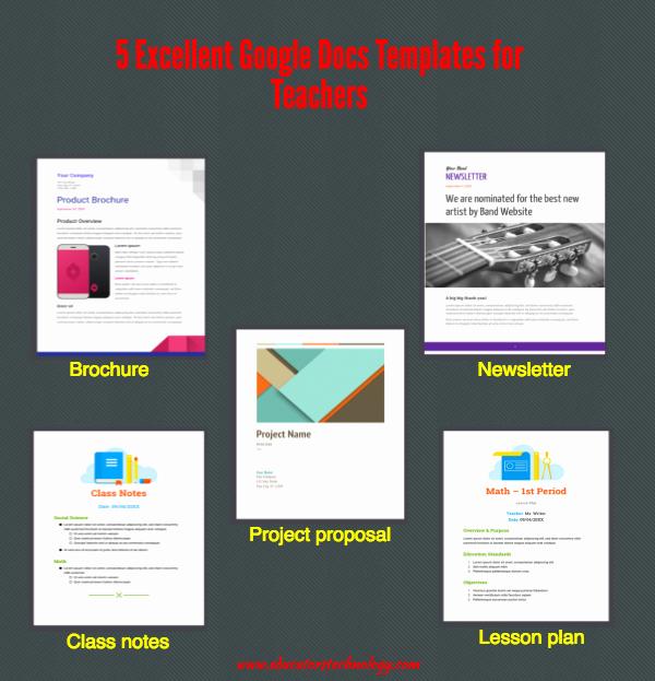 Picture Book Template Google Docs Fresh 5 Excellent Google Docs Templates for Teachers