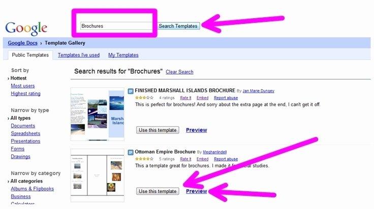Picture Book Template Google Docs New Brochure Templates Google Docs Beepmunk