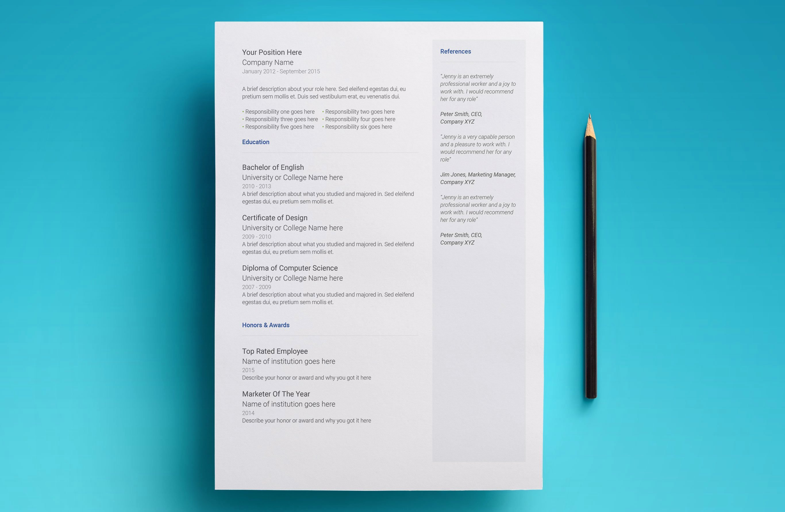 Picture Book Template Google Docs New Free Google Docs Resume Template Download & Use now