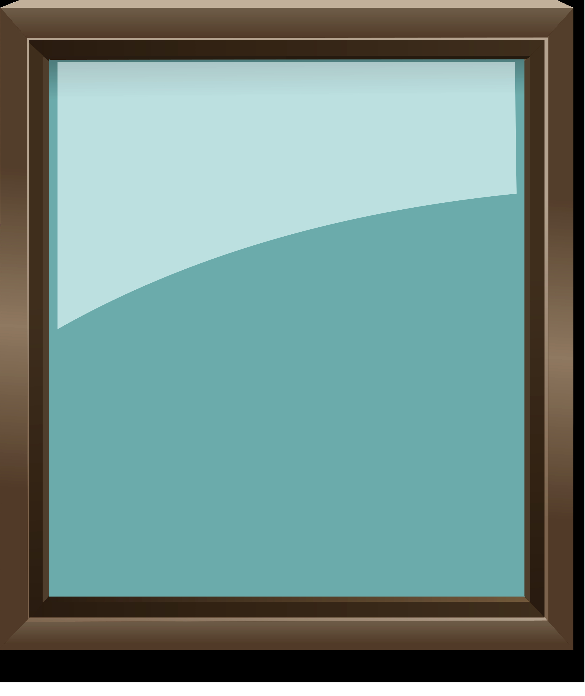 Picture Frame Vector Beautiful Glass Picture Frame Vector Clipart Image Free Stock
