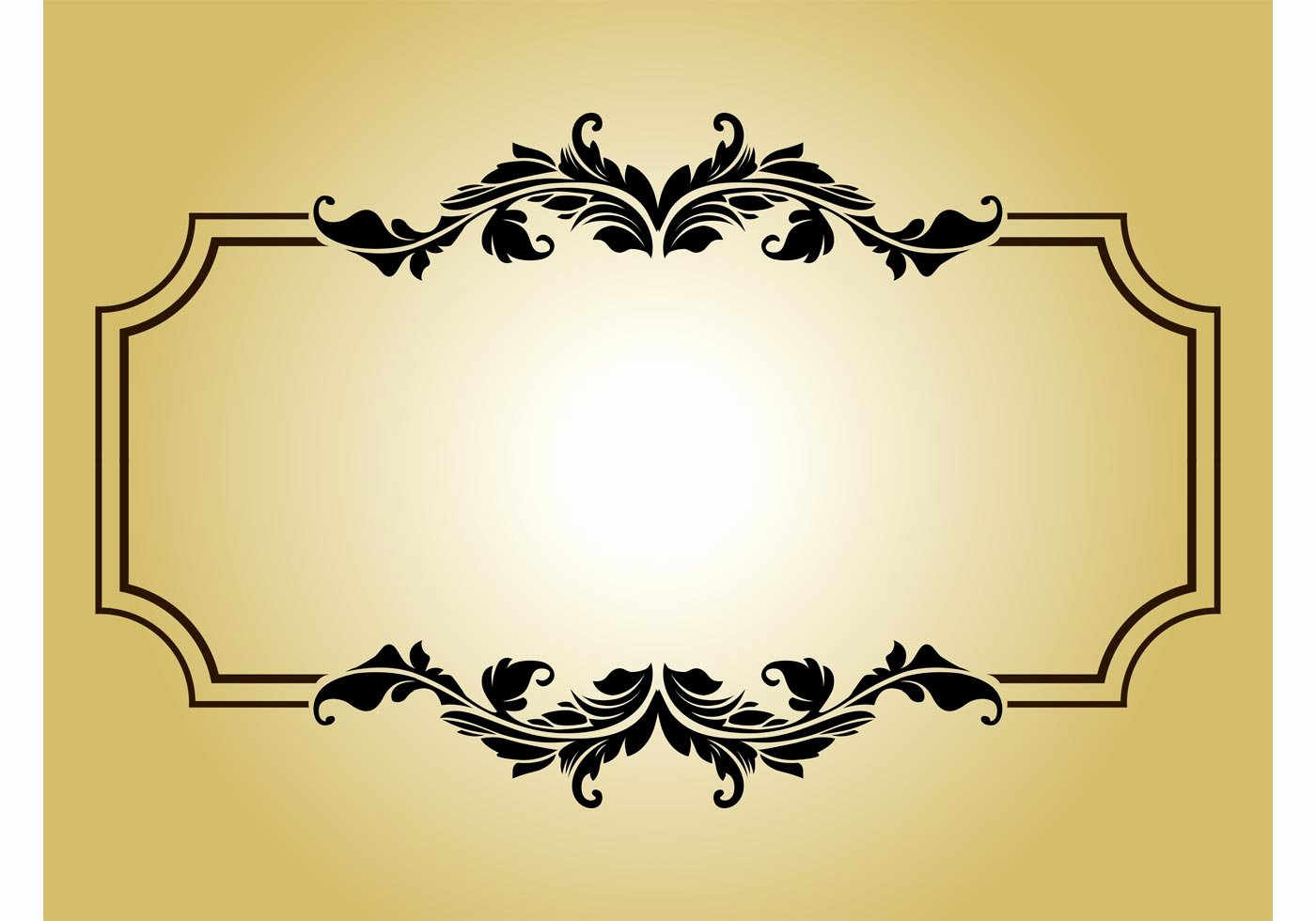 Picture Frame Vector Fresh Vintage Frame Free Vector Art Free Downloads