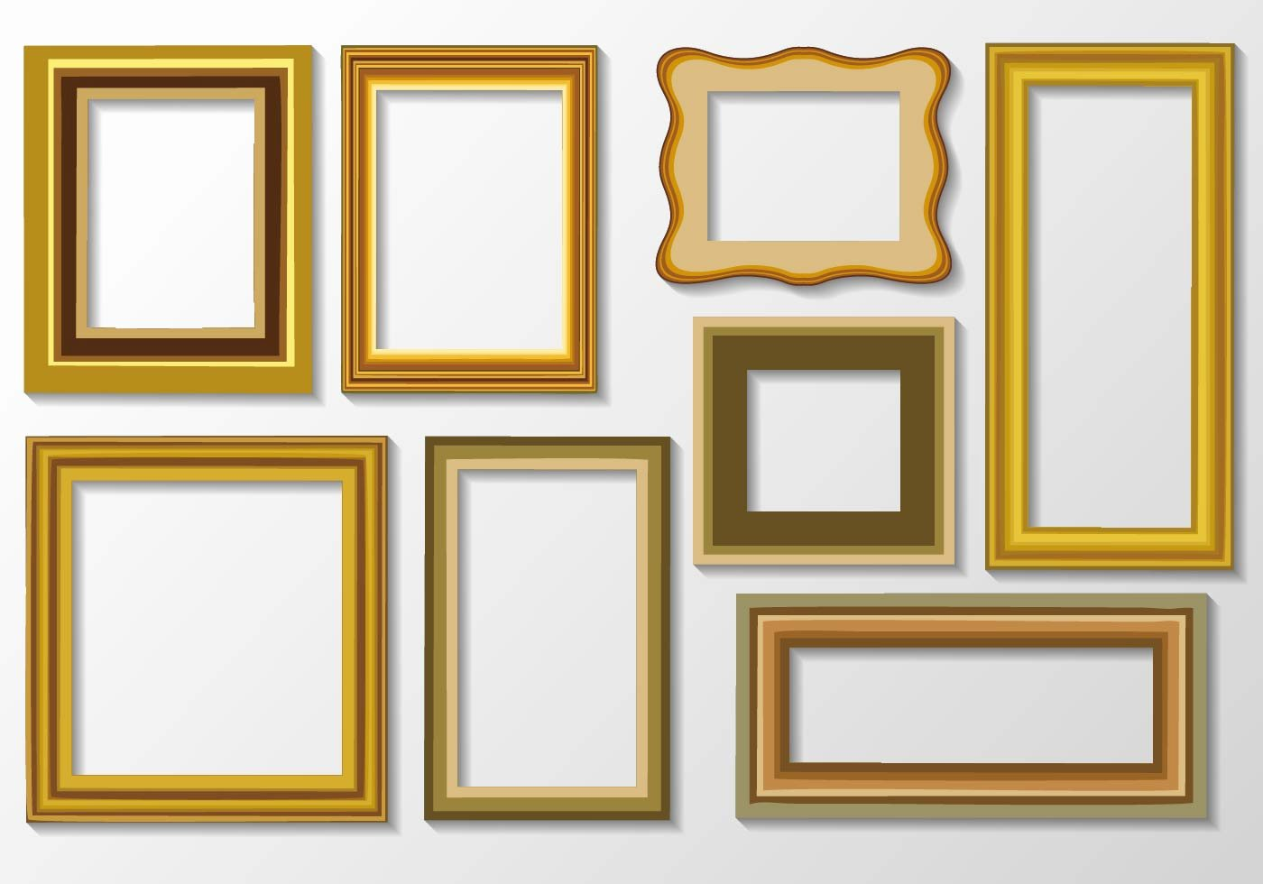 Picture Frame Vector Inspirational or Art Frame Vector Download Free Vector Art