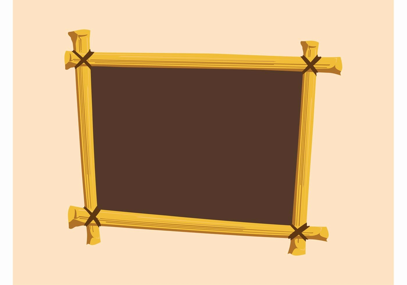 Picture Frame Vector Lovely Wooden Frame Download Free Vector Art Stock Graphics