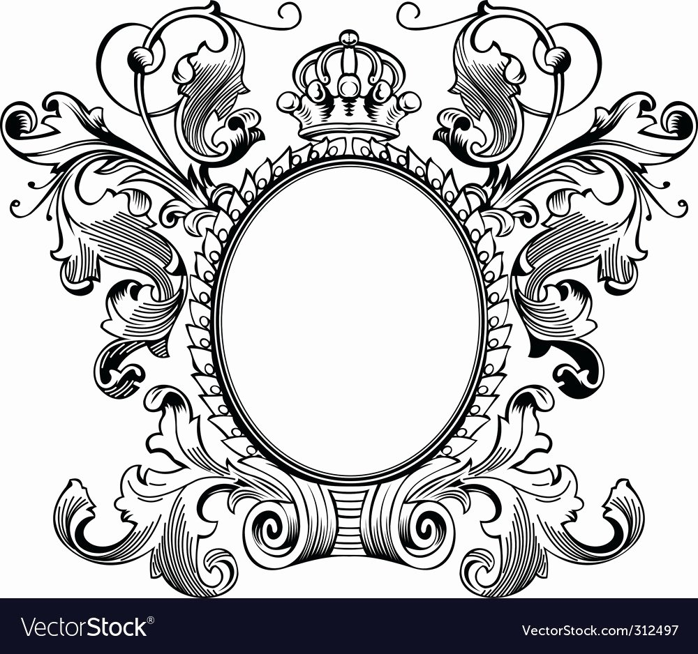 Picture Frame Vector Luxury Vintage Frames Royalty Free Vector Image Vectorstock