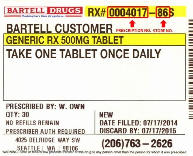 Pill Bottle Label Template New the Anatomy Of A Prescription Label the Honest Apothecary