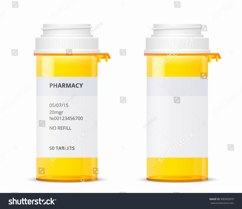 Pill Bottle Label Template Unique Prescription Label Template Invitation Template – Nurul Amal