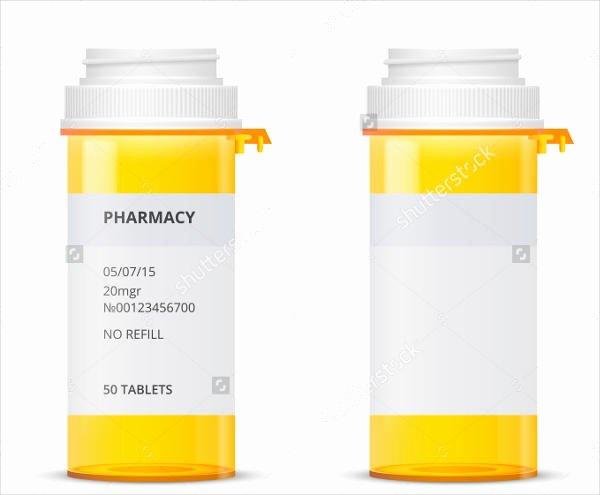 Pill Bottle Labels Template Best Of Blank Prescription Bottle Label Template Templates