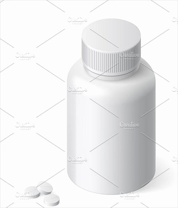 Pill Bottle Labels Template Fresh 9 Pill Bottle Label Templates Design Templates