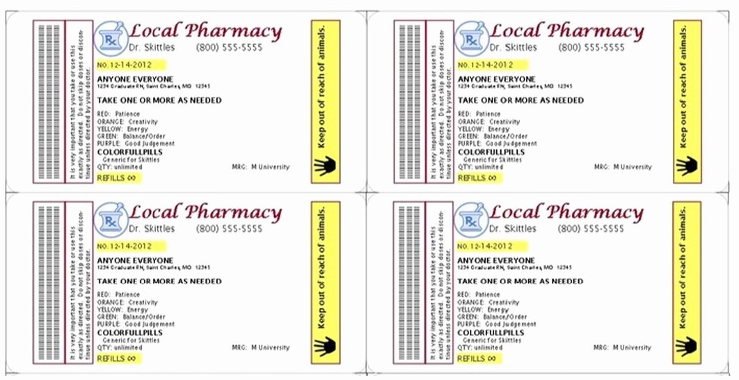 Pill Bottle Labels Template Luxury Pill Bottles Bottle Labels and Pills On Pinterest