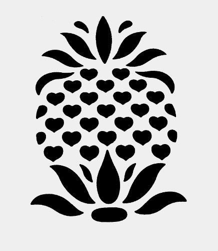 Pineapple Leaf Template Inspirational 40 Best Printables & Stencils Images On Pinterest