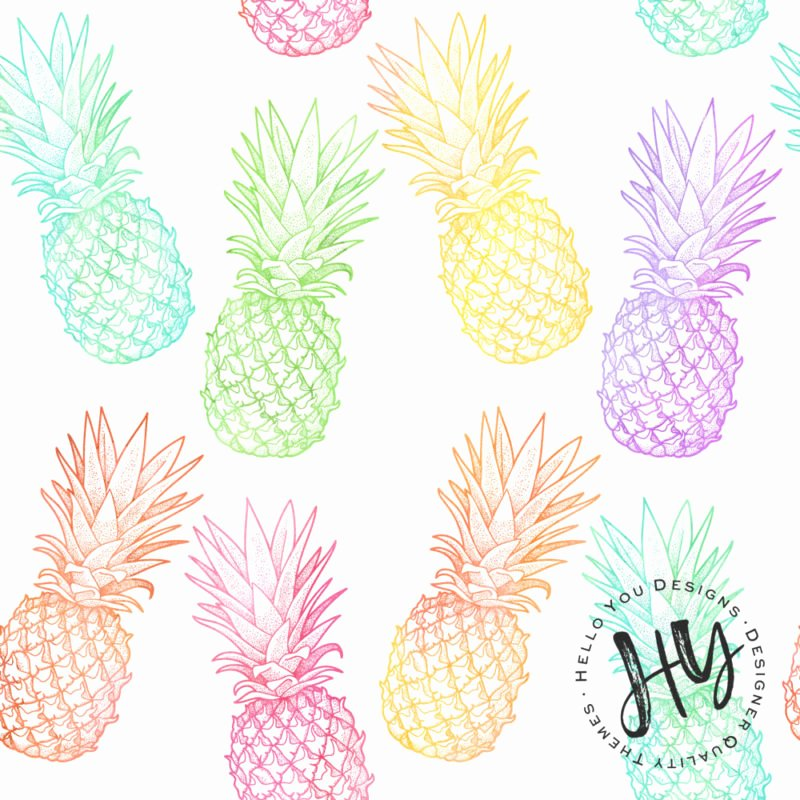 Pineapple Leaf Template Unique Tropical Leaf Pattern Freebie Hello You Designs