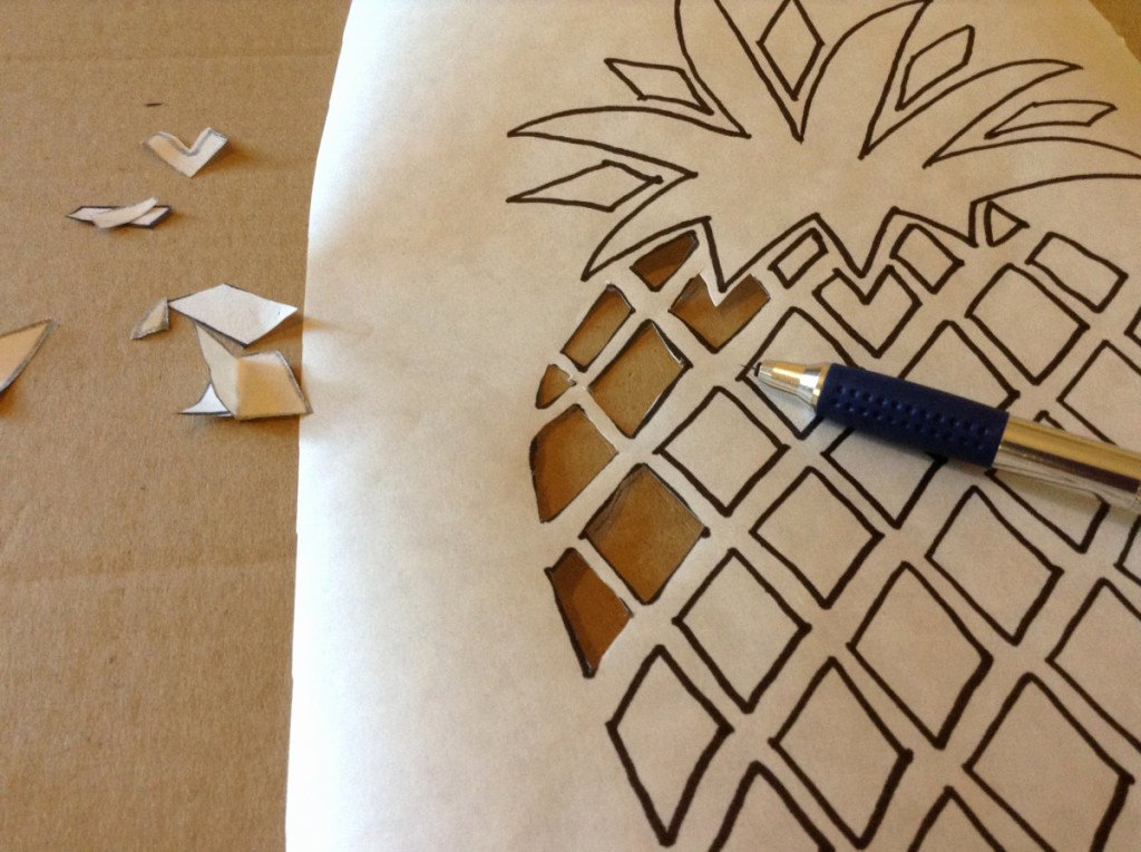 Pineapple Leaves Template Fresh How to Make A Pineapple Cushion Hobbycraft Blog