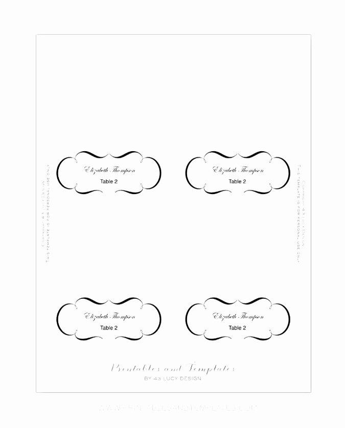 Place Card Template 6 Per Sheet Inspirational 5 Kepner Tregoe Decision Analysis Template Siett