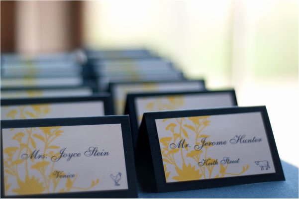 Place Card Template 6 Per Sheet Unique Make Your Own Wedding Reception Dinner Place Cards