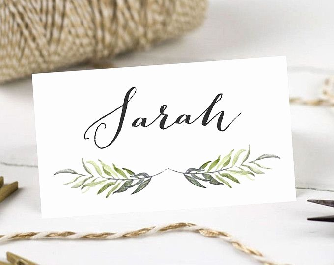Place Card Template Word 6 Per Sheet Best Of 17 Best Ideas About Printable Place Cards On Pinterest