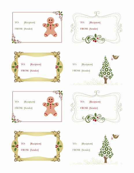 Place Card Template Word 6 Per Sheet Inspirational Labels Fice