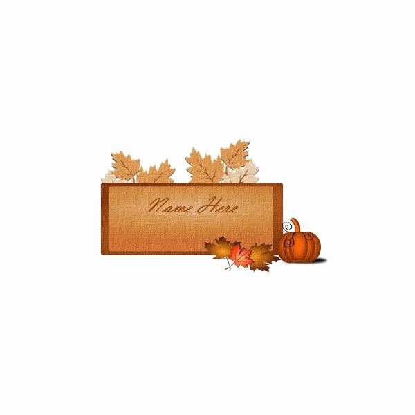 Place Card Template Word 6 Per Sheet Lovely 5 Thanksgiving or Harvest themed Printables Greeting Card