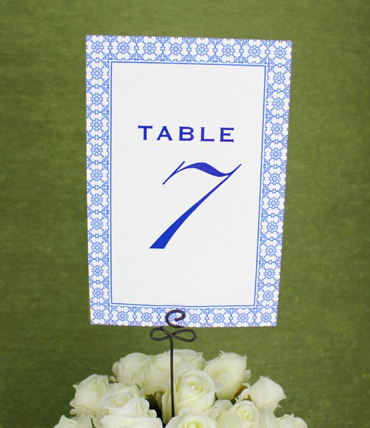 Place Card Template Word 6 Per Sheet Lovely Printable Reception Table Number Template – Download & Print