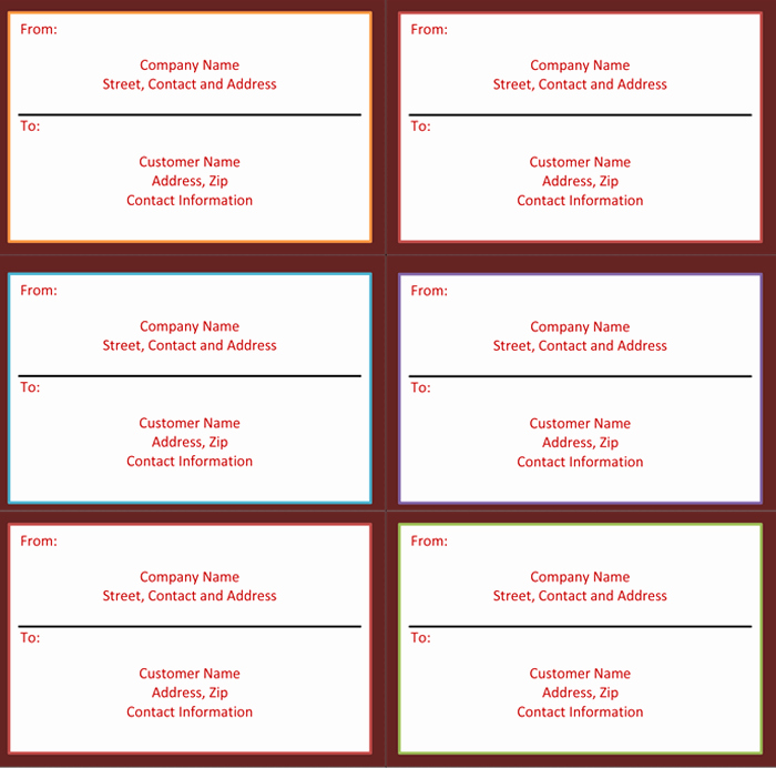 Place Cards Template 6 Per Sheet Awesome Label Template 6 Per Sheet