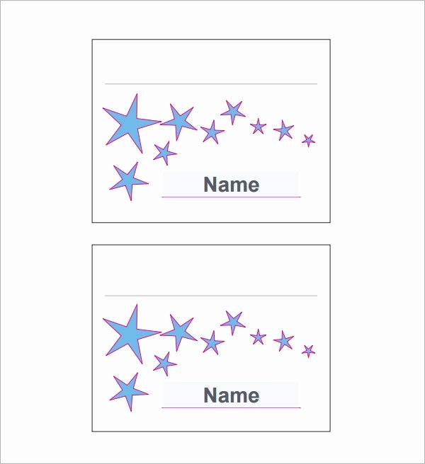 Place Cards Template 6 Per Sheet Elegant 7 Place Card Templates