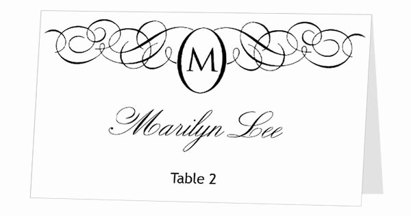 Place Cards Templates 6 Per Sheet Elegant Avery Place Card Template Instant Download Escort Card