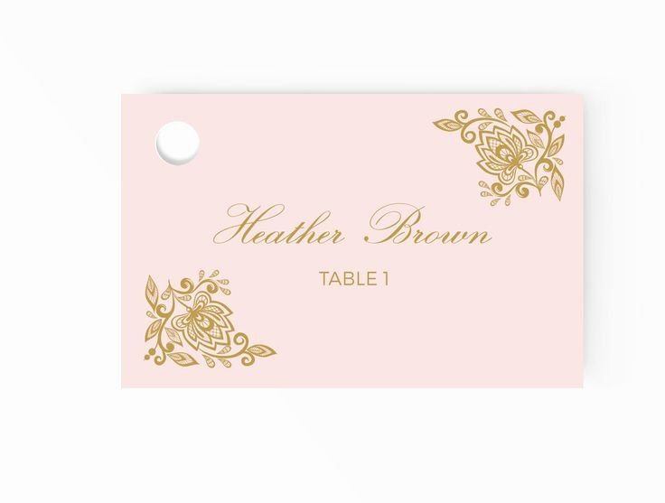 Place Cards Templates 6 Per Sheet Lovely Best 25 Place Card Template Ideas On Pinterest