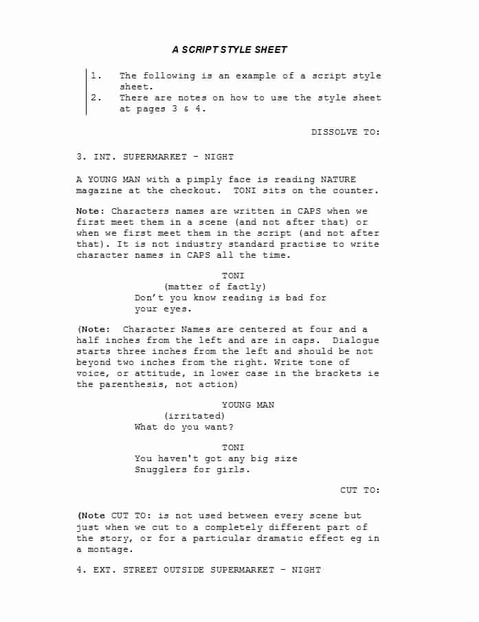 Play format Template Luxury Screenplay Template – Reshinter Design