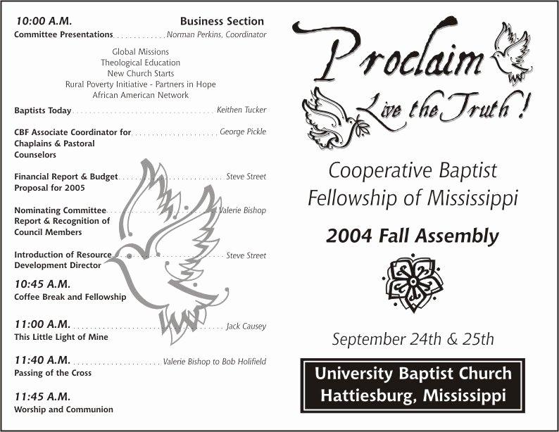 Play Program Templates Elegant Free Printable Church Program Template