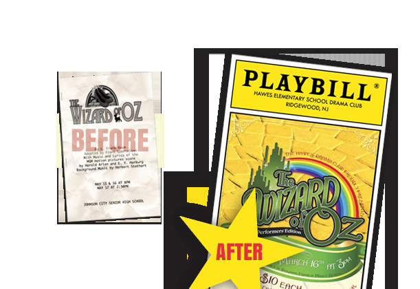 Play Program Templates Unique Playbillder Create Your Own Playbill for Your School or