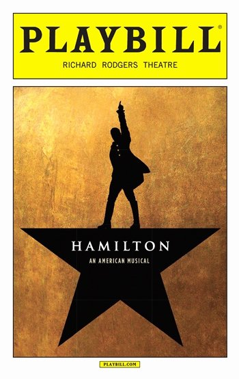 Playbill Cover Template Luxury Hamilton the Musical July Playbill 2016 Hamilton the