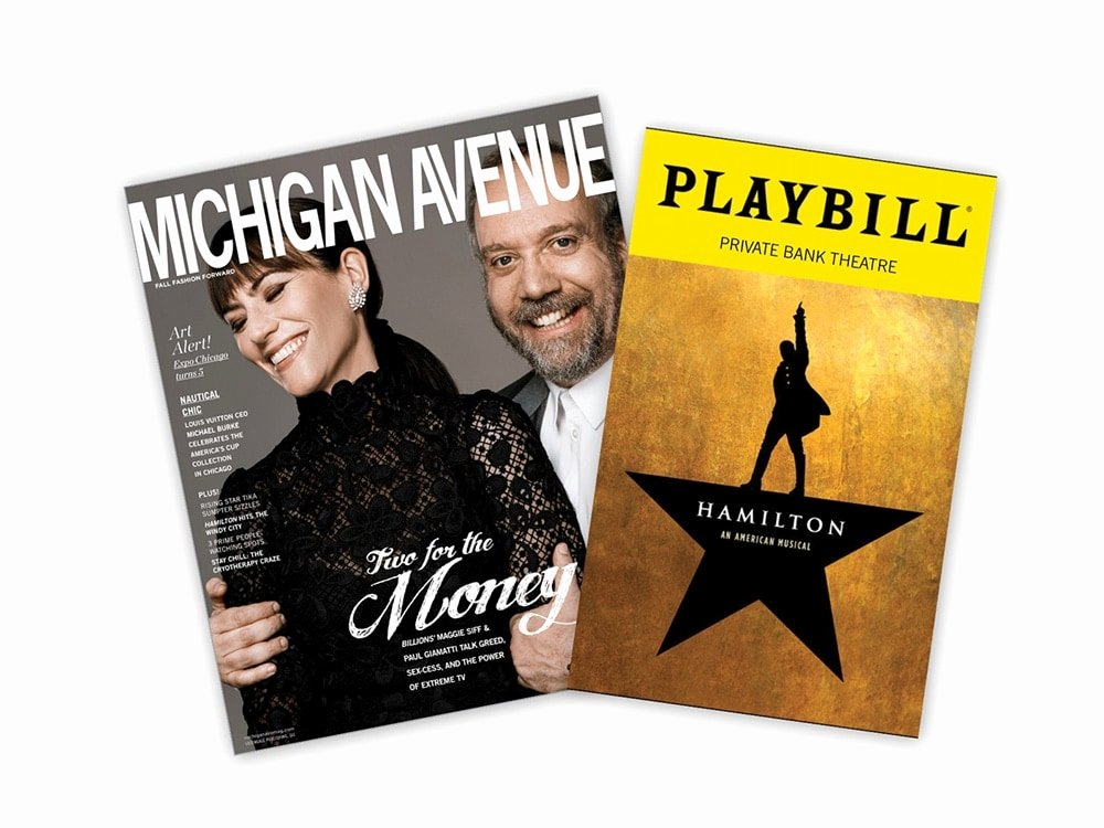 Playbill Cover Template Luxury Michigan Avenue Magazine and Playbill Launch Partnership