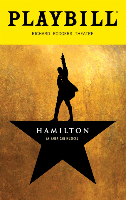 Playbill Cover Template New Hamilton the Musical December 2016 Playbill Opening
