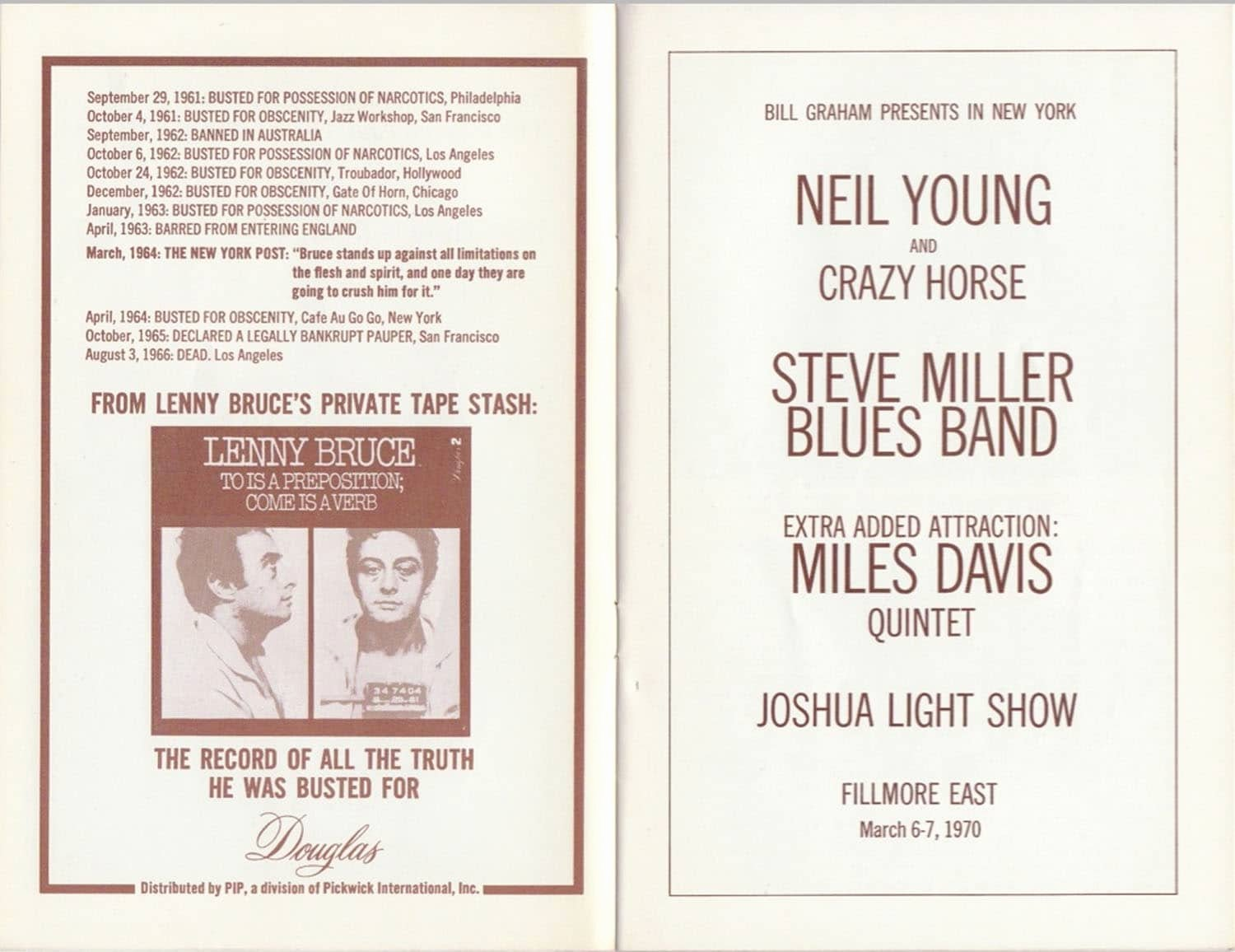 Playbill Template for Mac Unique Fillmore East Program Cypruspiratebay