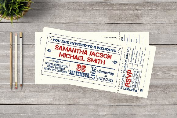 Playbill Template Photoshop Best Of Ticket Wedding Invitation Invitation Templates On