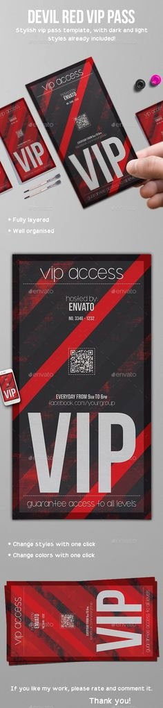 Playbill Template Photoshop Elegant Vip Zone Members Premium Invitation Card Warning Hanger