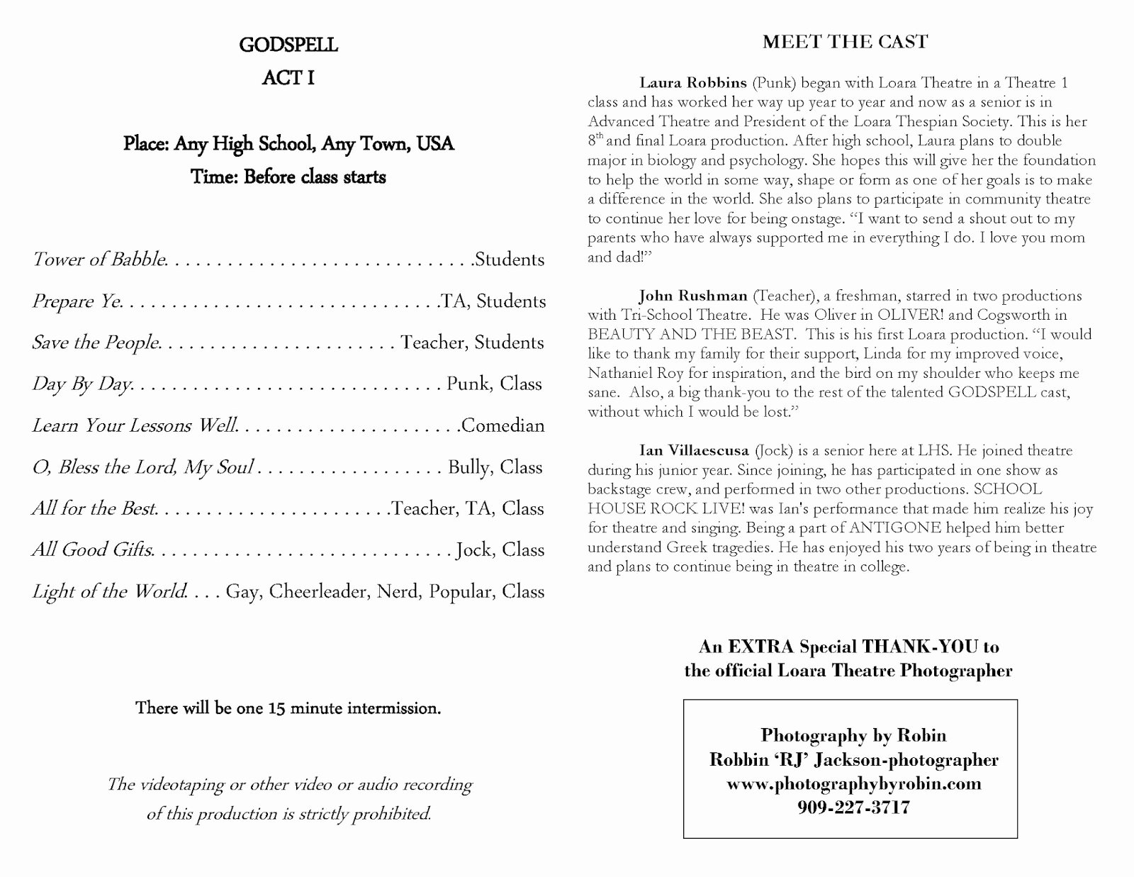 Playbill Template Word Fresh Download Free theater Production Program Template