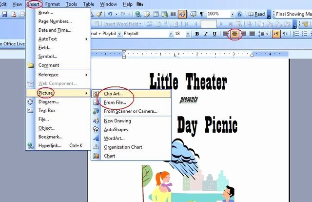 Playbill Template Word New How to Make A Playbill On Microsoft Word