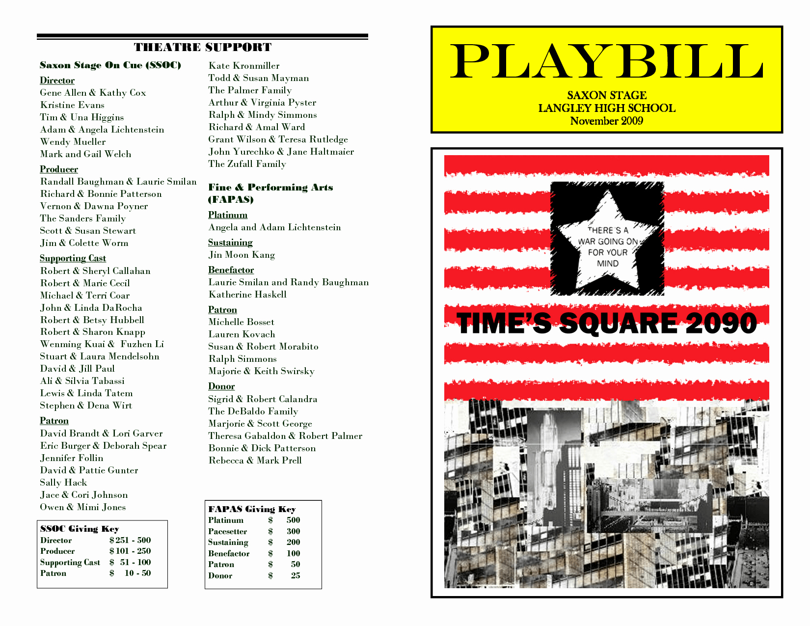 Playbill Template Word Unique Playbill Template In Microsoft Word Sgasd X Fc2