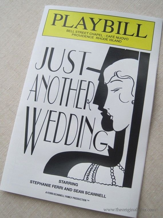 Playbill Templates Free Inspirational Wedding Playbills Programs with Paper source
