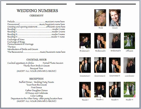 Playbill Templates Free Lovely Playbill Template Word Pdf Shop Free Download