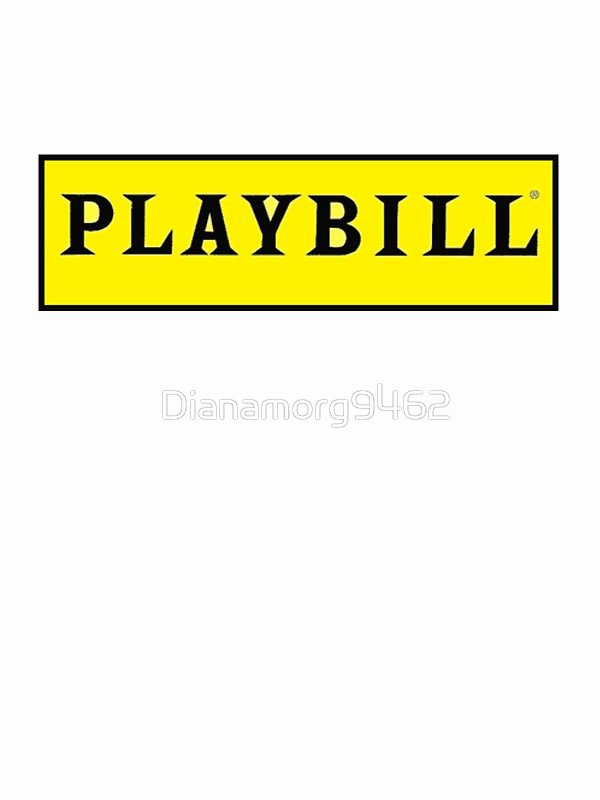 Playbill Templates Free Unique Playbill Stickers by Dianamorg Redbubble – Arixta