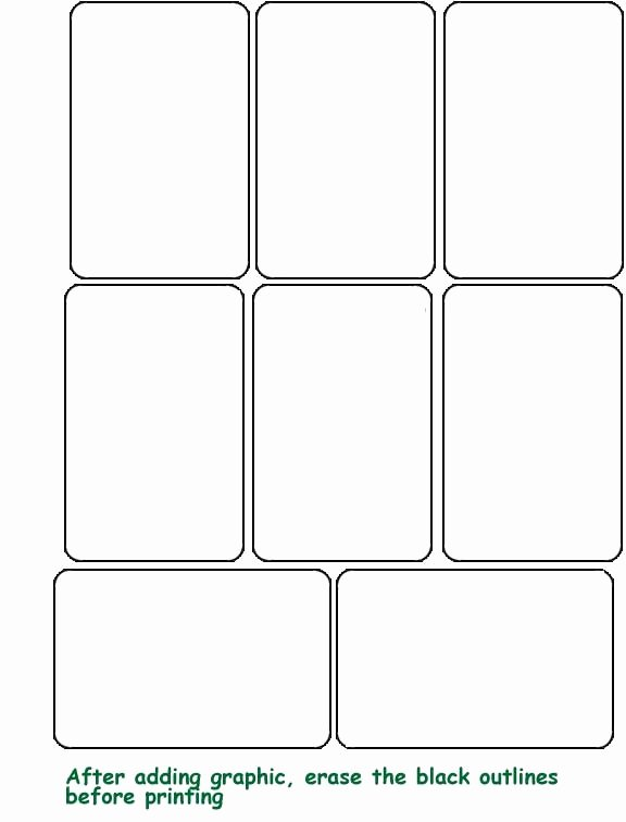 Playing Card Template Word Lovely Playing Card Template