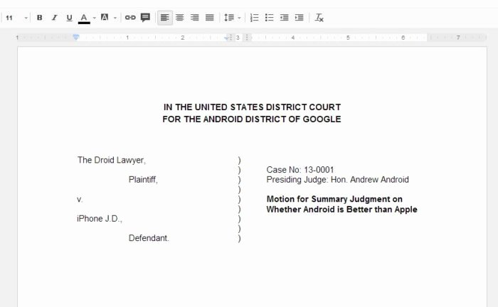 Pleading Paper Google Docs Awesome Legal Pleading Paper 28 Lines Template Templates