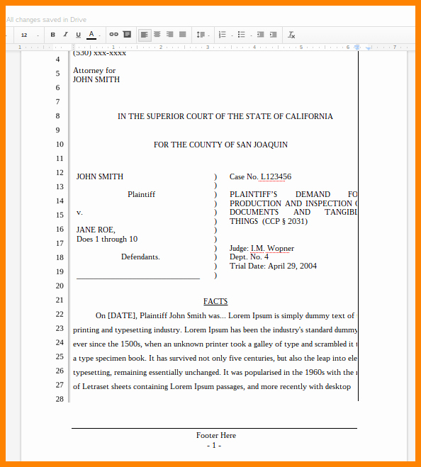 Pleading Paper Google Docs Fresh Prenuptial Agreement Example