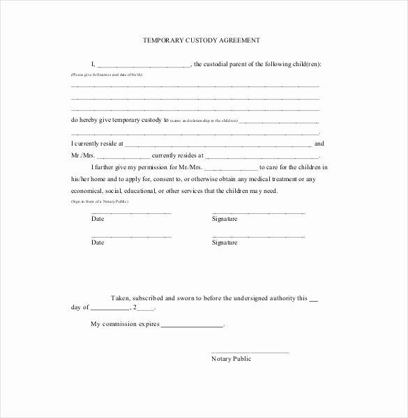 Pleading Paper Google Docs Inspirational Custody Agreement Template Beepmunk