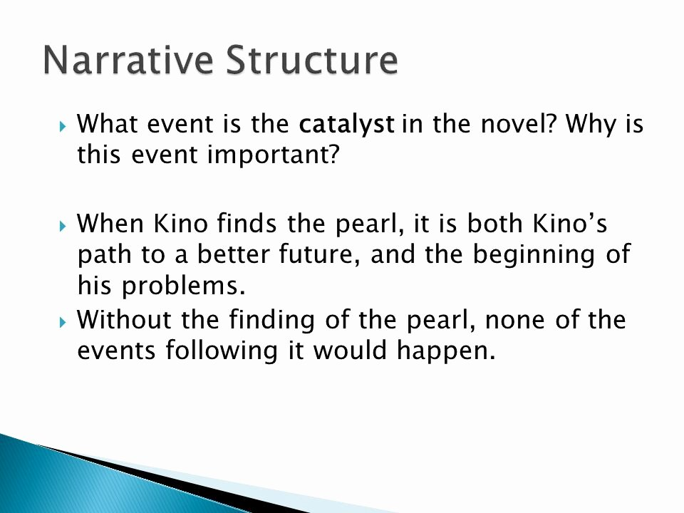 Plot Diagram for the Pearl Lovely Novel Study the Pearl Ppt