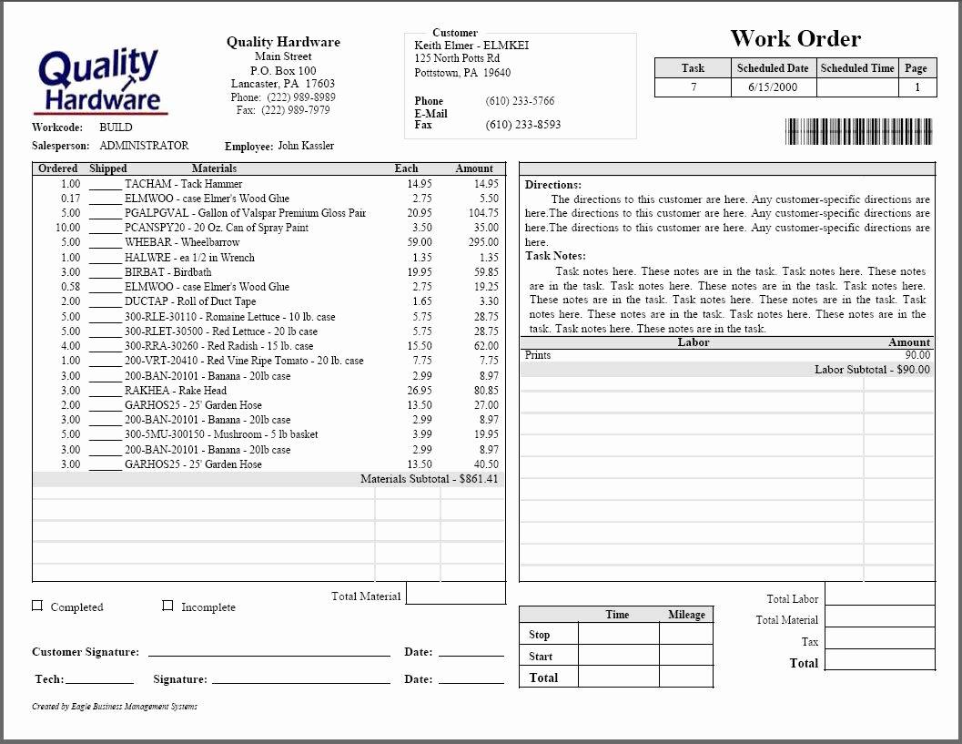 Plumbers Report Template Lovely Plumbing Estimate forms Free La Portalen