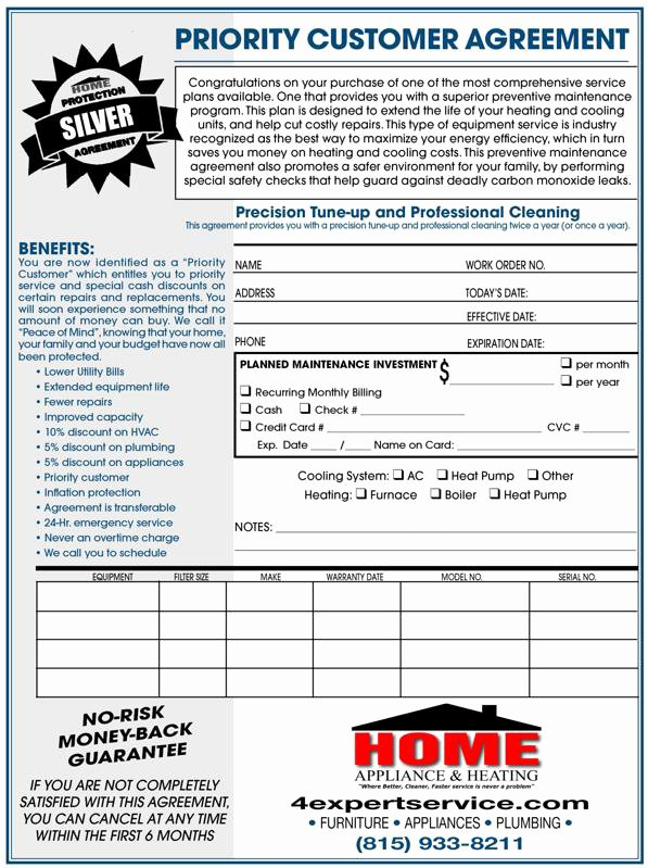 Plumbers Report Template New Ac Tune Up Kankakee Furnace Tune Up Il